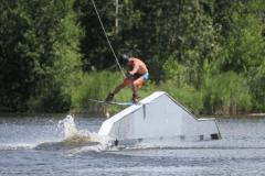 Du wakeboard tracté à la Base de plein air Sainte-Foy