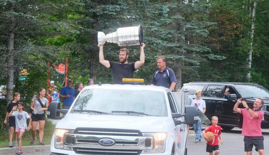 La Coupe Stanley de passage à Lac-Beauport