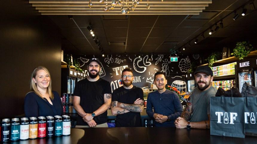 Amateurs de bières québécoises, Tite Frette débarque à Beauport!