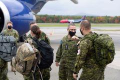 Déploiement de troupes en soutien à l'opération Unifier