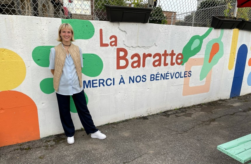 Espace dédié en hommage aux bénévoles de La Baratte