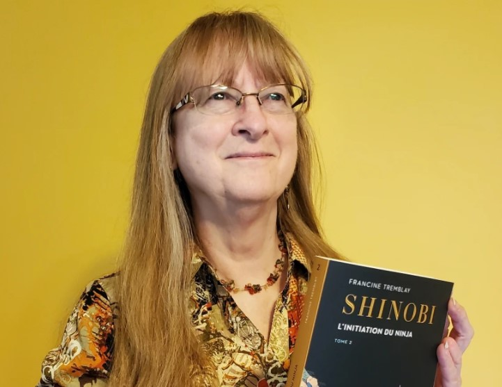 Francine Tremblay sort le 2e tome de Shinobi
