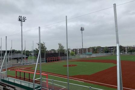 Le terrain de baseball Henri-Casault a fière allure
