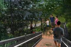 Un escalier reliera le Bois-de-Coulonge à la promenade Samuel-De Champlain