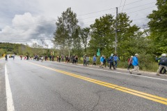 Marche de sensibilisation pour la protection des forêts
