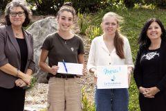 Trois collégiens se distinguent au concours «Gagne ta bourse!»
