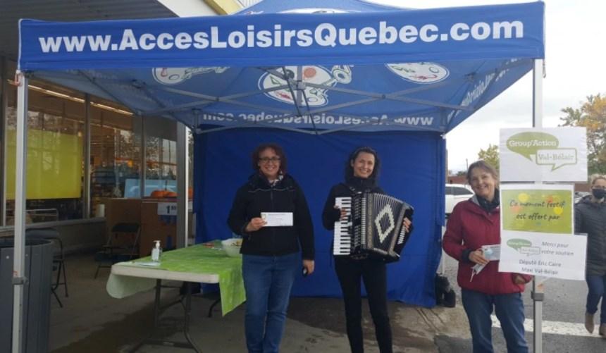 De l'accordéon et des douceurs à Val-Bélair