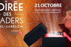 Formule virtuelle pour la 6e Soirée des leaders Michel-Sarrazin