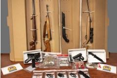 Saisie d'armes à feu et arrestations à Beauport