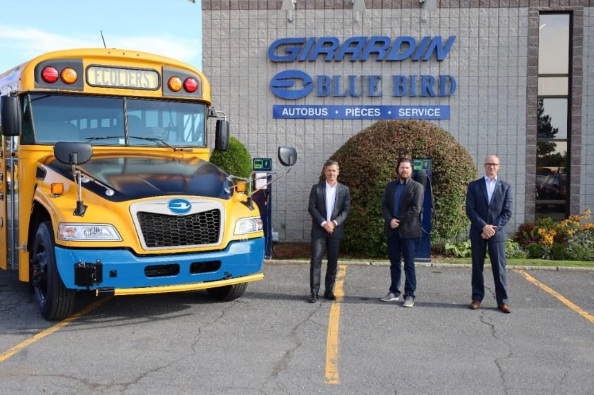 Des autobus scolaires électriques à Québec