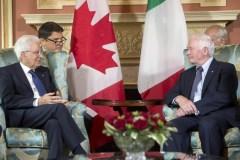 Mattarella in Canada, legami saldi e sempre più forti