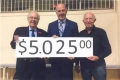 """Un contributo di $ 5.025 per """"SOS Casa d'Italia"""""""