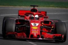 Vettel e la Ferrari, il GP d'Australia ai primi della classe