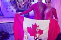 Samantha e Adriano campioni del mondo di salsa