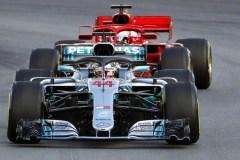 Hamilton fa il bis in Spagna