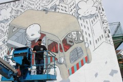 "Un murales ""italiano"" per l'Avenue Mont-Royal"