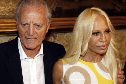 """Versace è americana , Donatella: """"Siamo felici"""""""