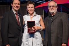 Dre Denise Tousignant reçoit la médaille de Saint-Éloi