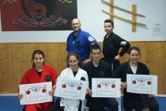 Nouvelles ceintures noires au Dojo Kenpo Karate Frédéric Hamel