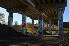 Viaduc des arts: Dix artistes dévoilent leurs fresques