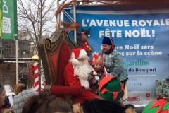 Noël est déjà commencé sur l'avenue Royale