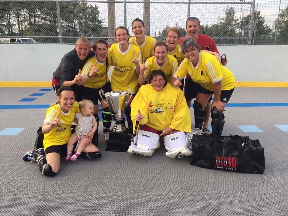 Dekhockey: L'équipe Béton Lagacé se démarque au Québec