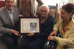Une Beauportoise fête son 100e anniversaire