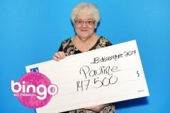 Un lot remporté au bingo