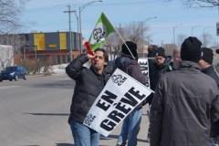 Grève générale illimitée chez Sico à Beauport