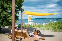 L'été est commencé à la Baie de Beauport