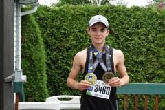 Marathonien à 16 ans: l'accomplissement d'Antoine Blanchet