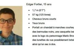 Edgar Fortier retrouvé
