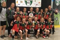 Le U10 Féminin remporte le tournoi de Victoriaville