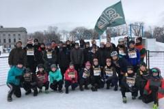 Pentathlon des neiges: trois podiums pour Saint-Jean-Eudes