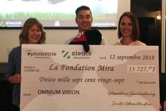 13 000$ pour la Fondation Mira