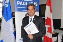 Pierre Paul-Hus questionne ses électeurs