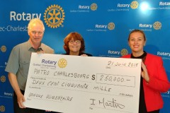 Partenariat entre le Club Rotary et le Patro de Charlesbourg