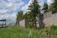 Mur antibruit sur Laurentienne: les travaux prolongés