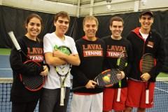 Les Langlois, unis par la famille… et le tennis