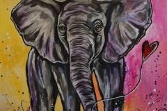 Des peintures animalières pour aider un refuge
