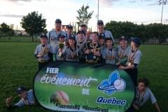 Les Capitales Gris de Québec champions