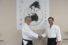 Nouvelle ceinture noire au Club Aïkido Shôbukaï de Québec