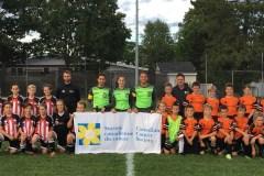Les arbitres de la Haute-Saint-Charles «expulsent le cancer»