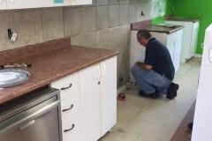Rénovation de la cuisine de Solidarité Familles