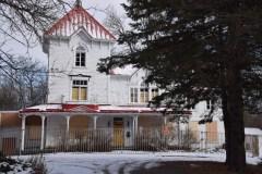 La Villa Livernois barricadée pour l'hiver