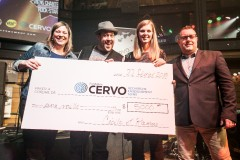La Fondation Cervo reçoit 5000$