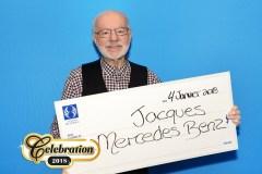 Un autre résident de Québec remporte une Mercedes-Benz