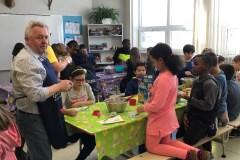 Des élèves sensibilisés à la cuisine communautaire
