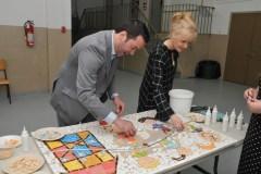 Réalisation de quatre mosaïques à l'école de l'Escabelle