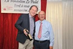 Richard Sévigny reçoit un grand cru